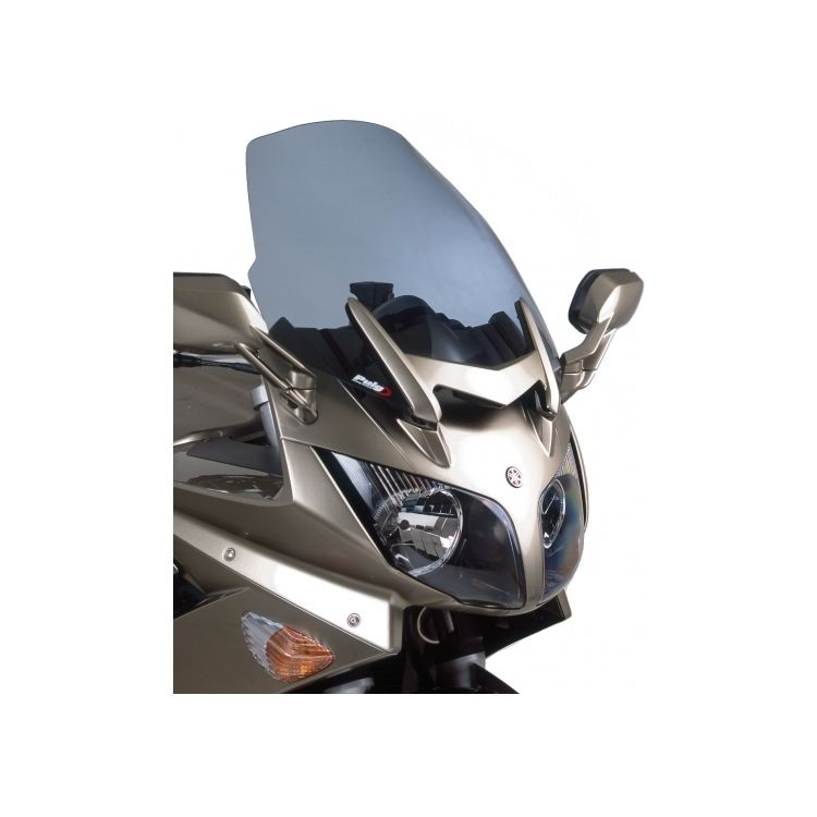 Puig Touring Windscreen Yamaha FJR1300 2006-2012 Clear [Previously Installed]