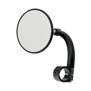 "Biltwell Utility 1"" Clamp-On Mirror"