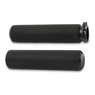 Arlen Ness Fusion Knurled Grips For Metric Cruiser And Victory