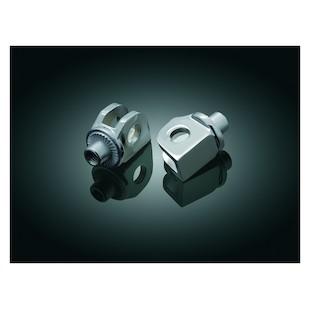 Kuryakyn Front / Rear Splined Foot Peg Adapters Can-Am / Honda / Suzuki / Triumph