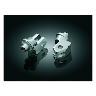 Kuryakyn Front Splined Foot Peg Adapters Yamaha