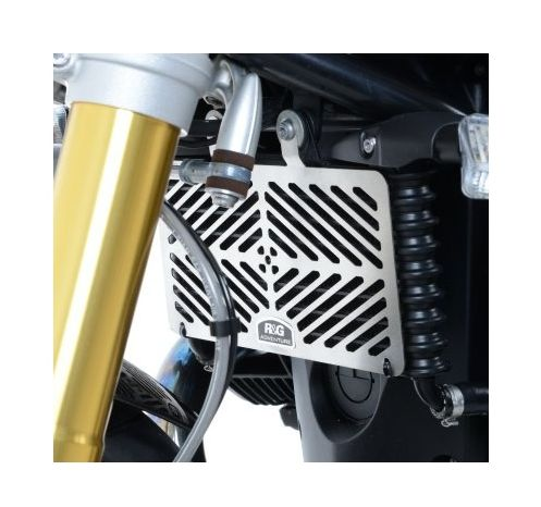 R Amp G Racing Stainless Steel Oil Cooler Guard Bmw R Ninet