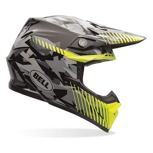 Bell Moto-9 Camo Motorcycle Helmet