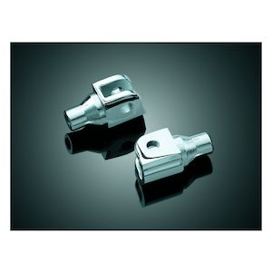 Kuryakyn Front Tapered Foot Peg Adapters Can-Am / Honda / Suzuki