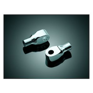 Kuryakyn Front Tapered Foot Peg Adapters Suzuki Intruder / Boulevard / Marauder