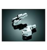 Kuryakyn Front Tapered Foot Peg Adapters Yamaha V Star / Bolt / Stryker / Virago / VMAX
