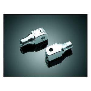 Kuryakyn Front / Rear Tapered Foot Peg Adapters Yamaha / Honda / Suzuki / Triumph