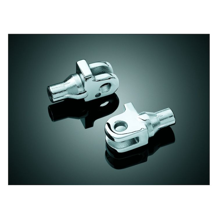 Kuryakyn Front / Rear Tapered Foot Peg Adapters Triumph
