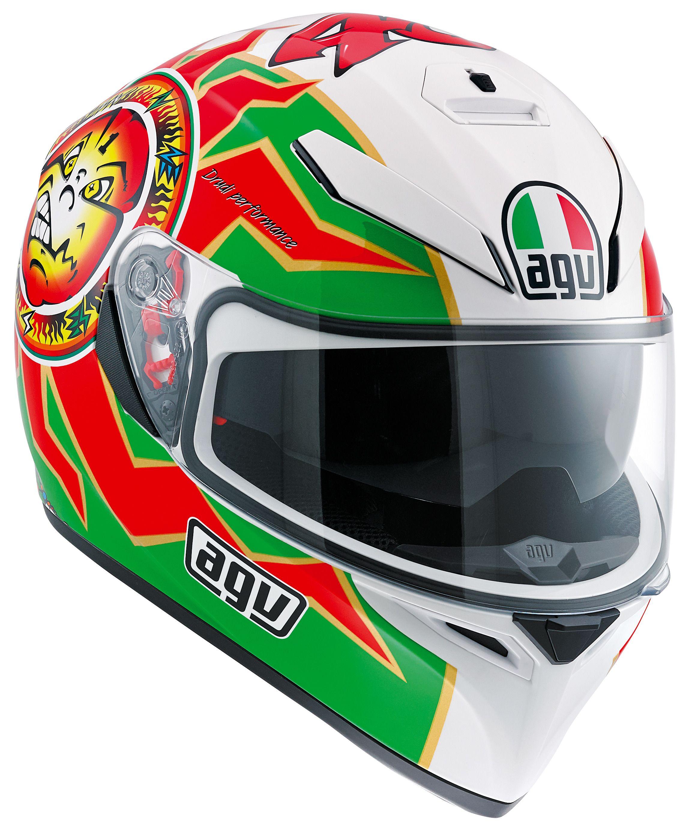 Agv K3 Sv Imola 1998 Helmet Size Xs Only 40 10798 Off Visor Helm Revzilla