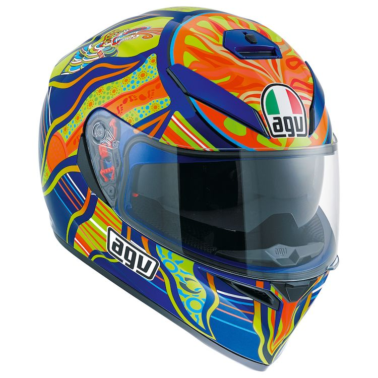 Blue Ducati Helmet