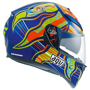 AGV K3 SV Five Continents Motorcycle Helmet