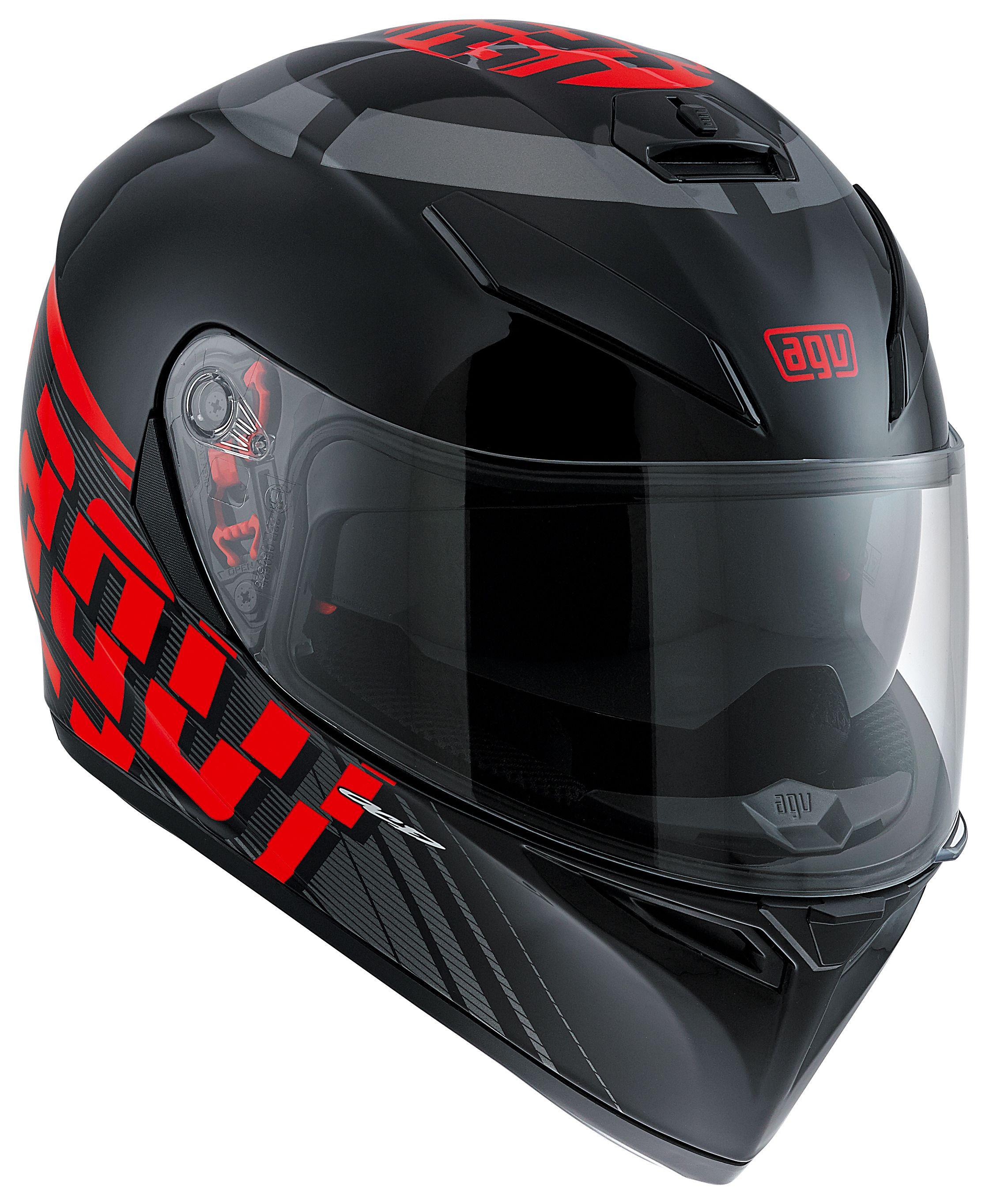 AGV K3 SV Helmet Review - Knee Down Reviews