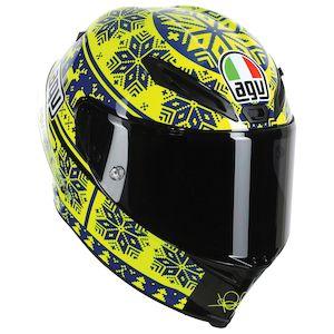 AGV Corsa Winter Test 2015 LE Helmet (Size LG Only)