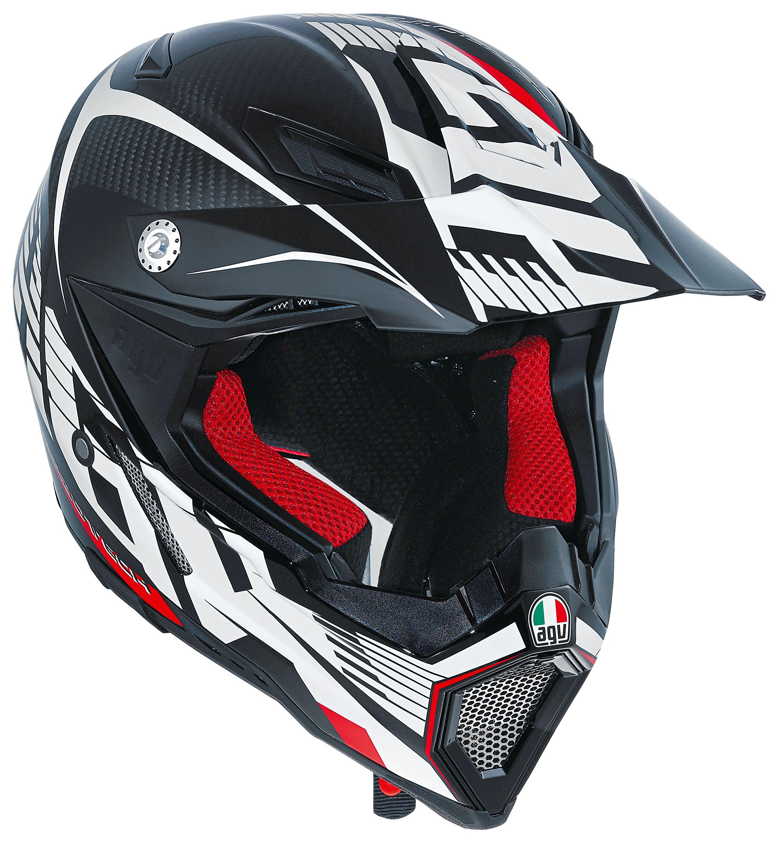 Motorcycle Helmets Dot >> AGV AX-8 EVO Carbotech Helmet - RevZilla