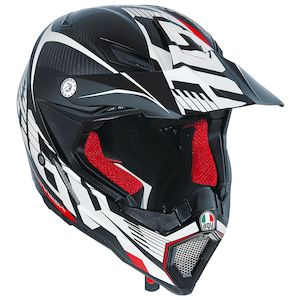 AGV AX-8 EVO Carbotech Helmet (Size SM Only)