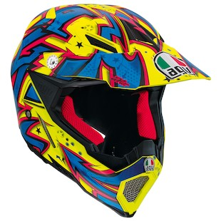 AGV AX-8 EVO Spray Motorcycle Helmet