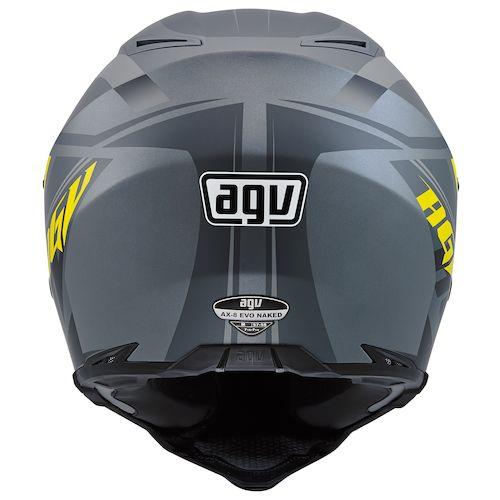 Agv AX-8 Evo Naked offroad helmet titan grey