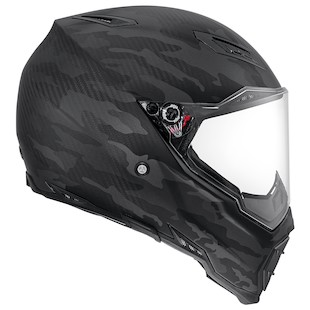 AGV AX-8 Naked Carbon Fury Motorcycle Helmet