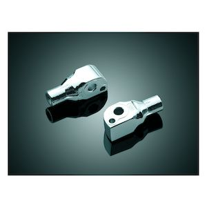 Kuryakyn Rear Tapered Foot Peg Adapters Suzuki Intruder / Boulevard / Marauder