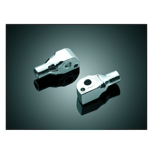 Kuryakyn Rear Tapered Foot Peg Adapters Suzuki Intruder / Boulevard / Marauder