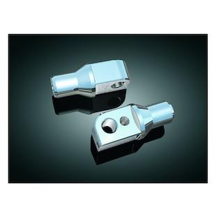 Kuryakyn Rear Tapered Foot Peg Adapters Suzuki M109R / GSX-R / Hayabusa