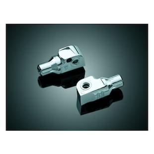 Kuryakyn Rear Tapered Foot Peg Adapters Yamaha V Star / Road Star / Royal Star / Virago / V-MAX