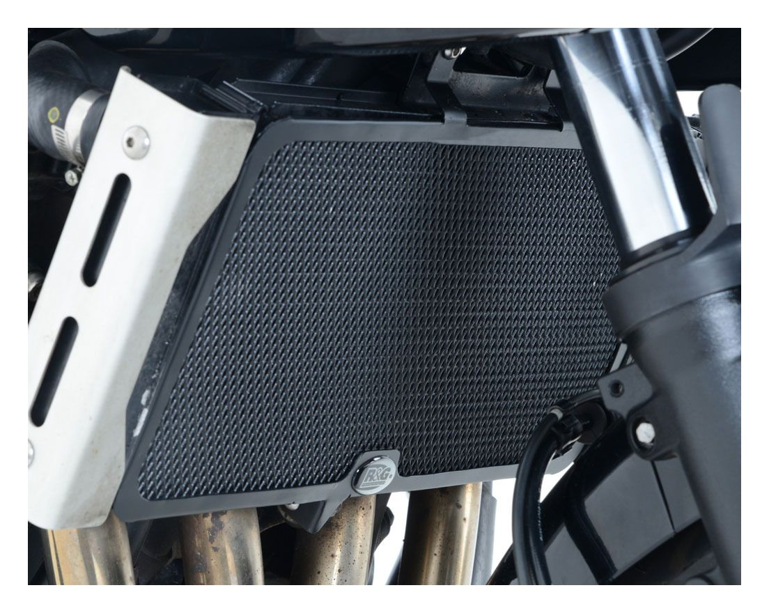 R/&G Radiator Guard Suzuki Bandit 1250 RAD0158BK Black