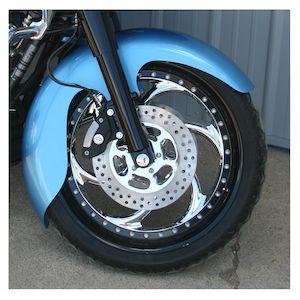 Klock Werks Jai Alai Tire Hugger Series Front Fender For Harley Softail / Dyna 1984-2013
