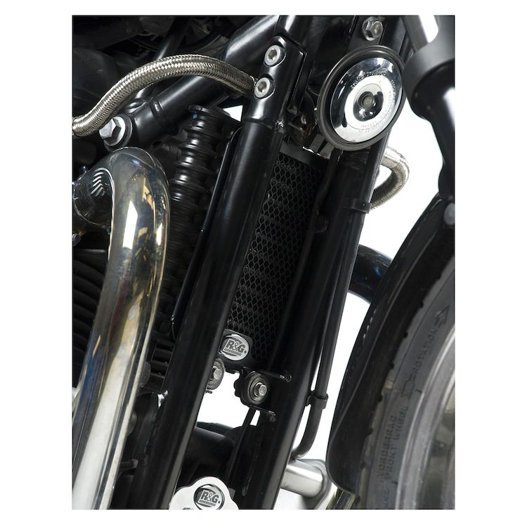 R&G Racing Oil Cooler Guard Triumph Bonneville / Scrambler / Thruxton 900
