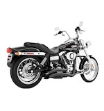 Freedom Performance Sharp Curve Radius Exhaust For Harley Dyna 1995-2005 Black [Previously Installed]