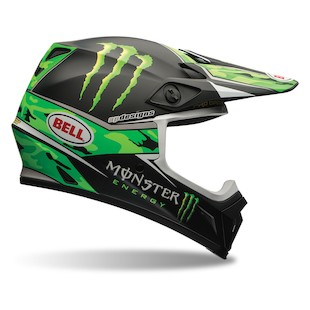 Bell MX-9 Pro Circuit Motorcycle Helmet
