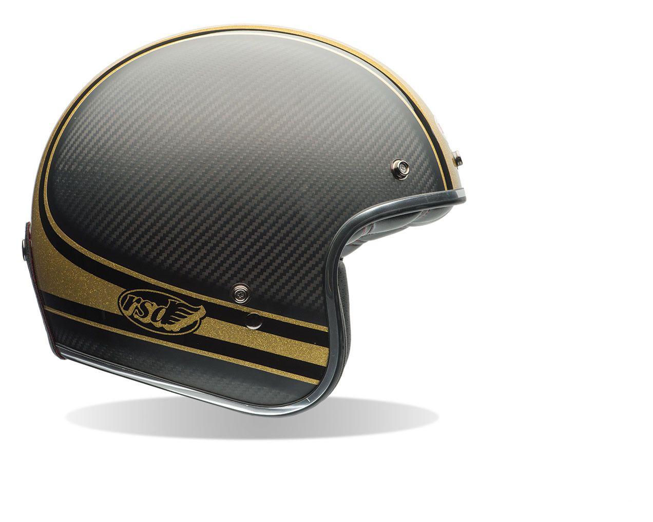 Bell Custom 500 Carbon Rsd Bomb Helmet Revzilla