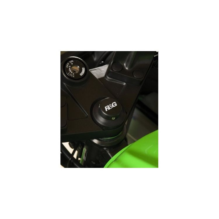 R&G Racing Steering Stem Nut Cap Kawasaki Ninja 300 2013-2015