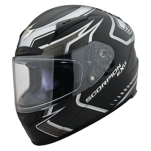 Scorpion EXO-R2000 Circuit Helmet Matte Black / XL [Blemished - Very Good]