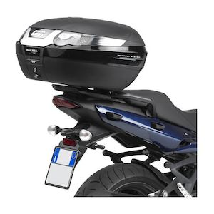 Givi SRA227  Aluminum Top Case Rack Triumph Sprint GT 2009-2012 Black / Monokey [Previously Installed]