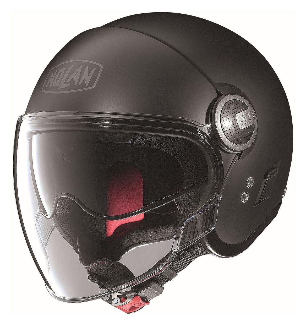 nolan n21 visor helmet solid revzilla. Black Bedroom Furniture Sets. Home Design Ideas