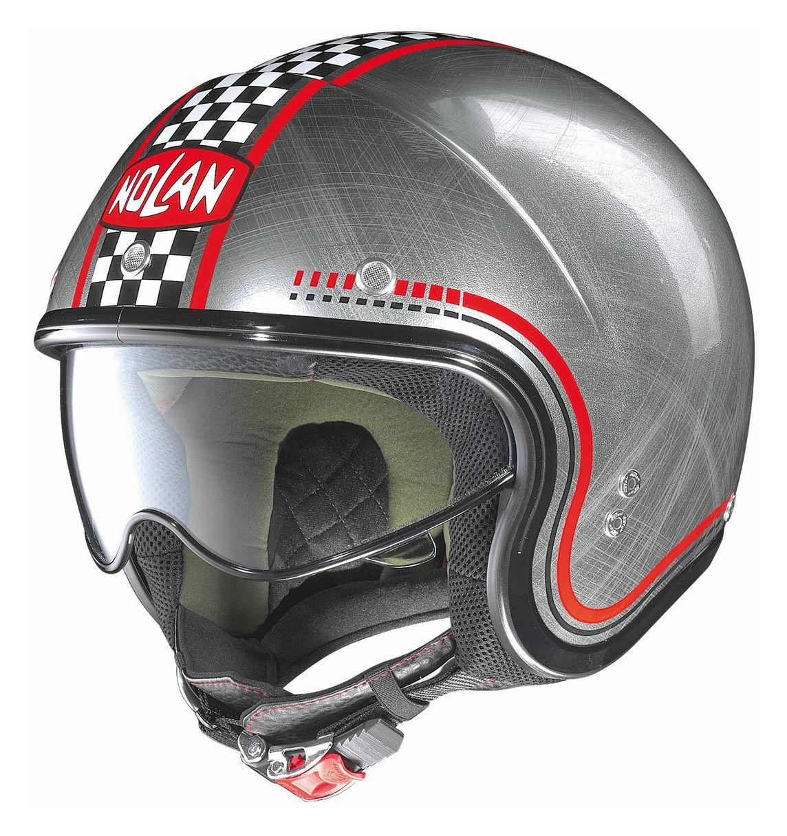 nolan n21 vintage lario scratched helmet sm 52 139. Black Bedroom Furniture Sets. Home Design Ideas