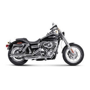 Akrapovic Slip-On Exhaust For Harley Dyna 2006-2016