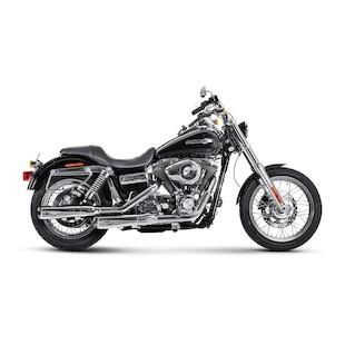 Akrapovic Slip-On Exhaust For Harley Dyna 2006-2016