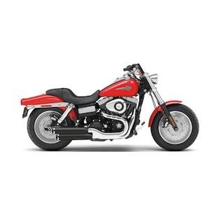 """Cobra 3"""" Slip-On Mufflers For Harley Dyna 2008-2016"""