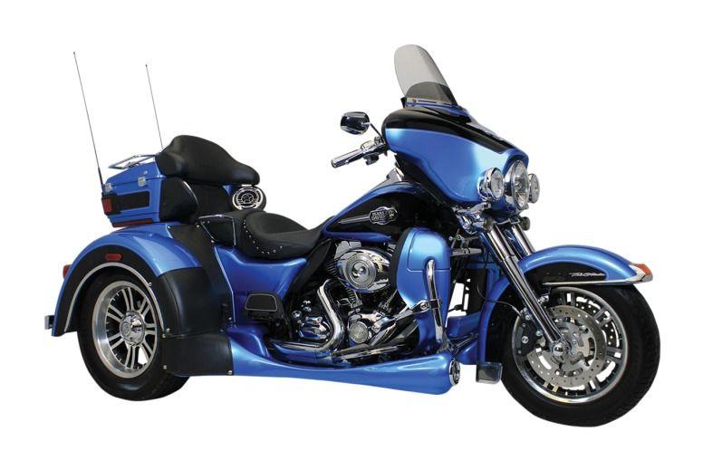 Motor Trike Trax Running Board For Harley Trike 2014-2018   5 ...