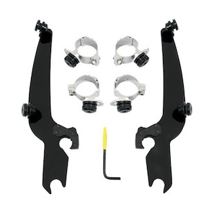 Memphis Shades Metric Sportshield Trigger-Lock Mount Kit For Yamaha Bolt 2014