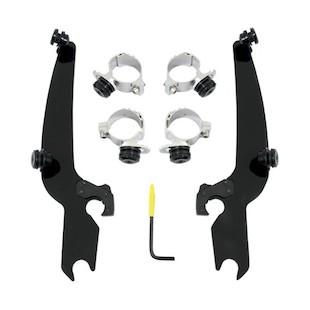 Memphis Shades Metric Sportshield Trigger-Lock Mount Kit For Yamaha Bolt 2014