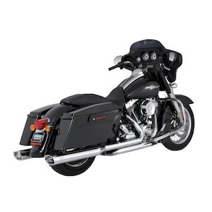 Vance & Hines Dresser Duals Headers For Harley Touring 2009-2016