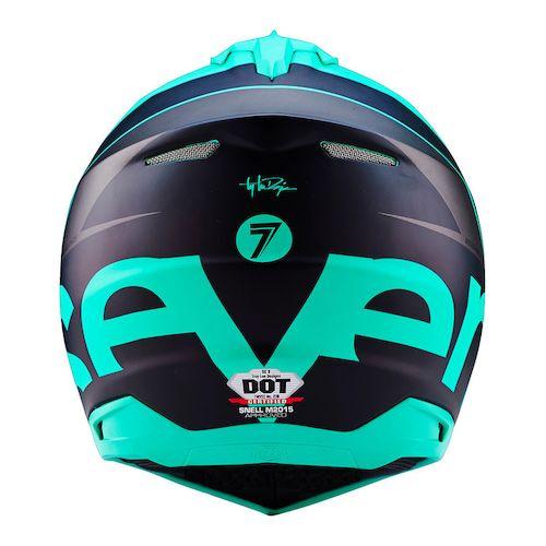 Seven MX SE3 Surge Helmet 2016 - Glo Green