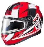 HJC CL-17 Striker Snow Helmet - Electric Lens