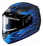 HJC CS-R2 Flame Block Snow Helmet - Electric Shield