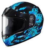 HJC CL-Y Flame Face Youth Helmet - Dual Lens