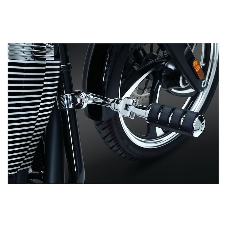 Kuryakyn Right Angle Mounts With Trident ISO-Pegs