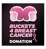Buckets For Breast Cancer Donation